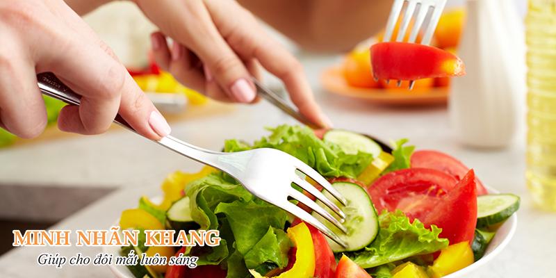 Thêm màu sắc cho bữa ăn chính là cách tốt nhất giúp bảo vệ mắt khi trưởng thành